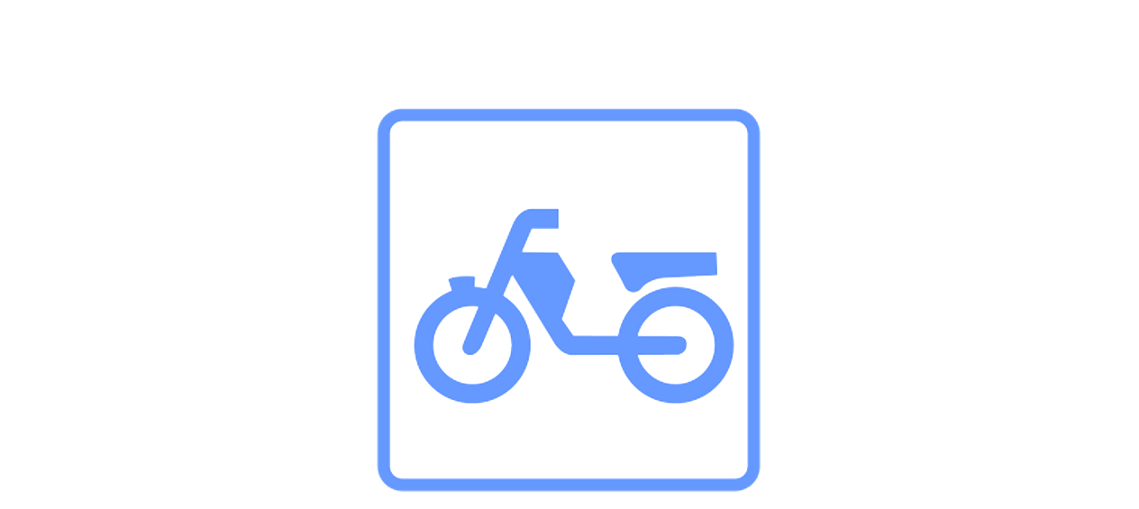 scooter rijbewijs icon